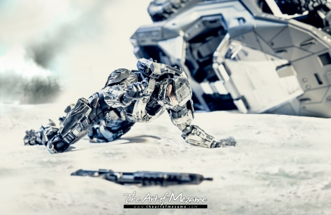 「The Art of Mezame」 Halo: Beyond Reach