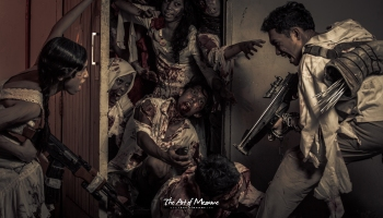 The Last Two Of Us A Pre Wedding Zombie Photo Montage