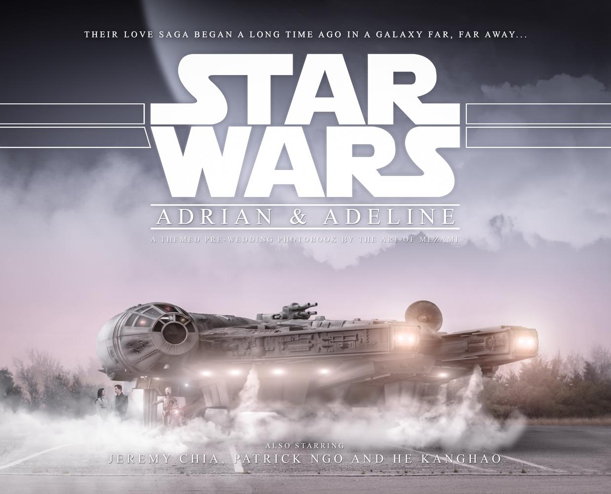 Star Wars: Adrian & Adeline   The Art of Mezame